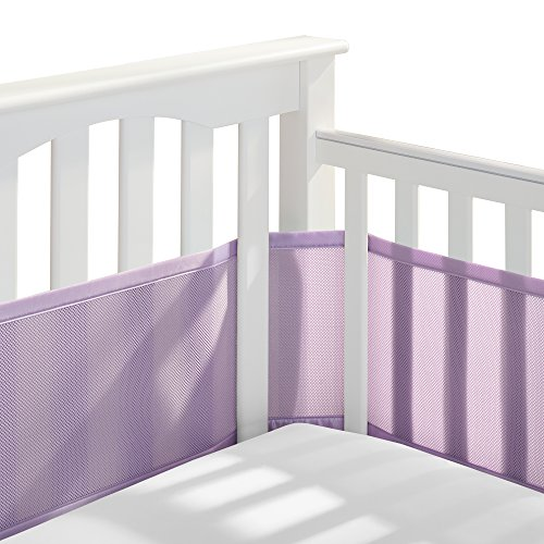 For Sale! BreathableBaby Classic Breathable Mesh Crib Liner - Lavender