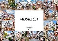 Mosbach Impressionen (Wandkalender 2022 DIN A4 quer): Impressionen und Eindruecke der wunderschoenen Fachwerkstadt Mosbach (Monatskalender, 14 Seiten )