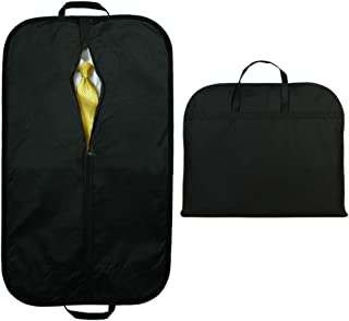 A Plus 40 Inches Travel Suit Cover, Breathable Folding Garment Bags with Handles
