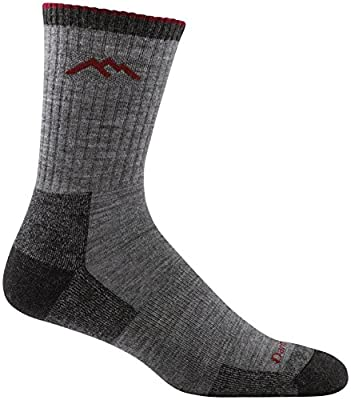 Darn Tough Hiker Micro Crew Cushion Sock - Men's Charcoal Large