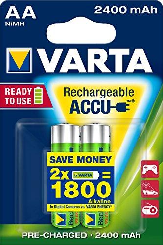 Varta AA Power Accu (1,2 V 2400 mAh 2-pack)