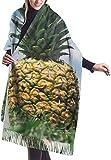 Bufanda de mantón Mujer Chales para, Lone Pineapple Summer Sky Bufanda para mujer Gran suave y sedoso Pashmina Cashmere Chal Wrap
