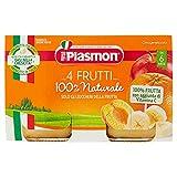 Plasmon Omogeneizzato 4 Frutti 24X104g