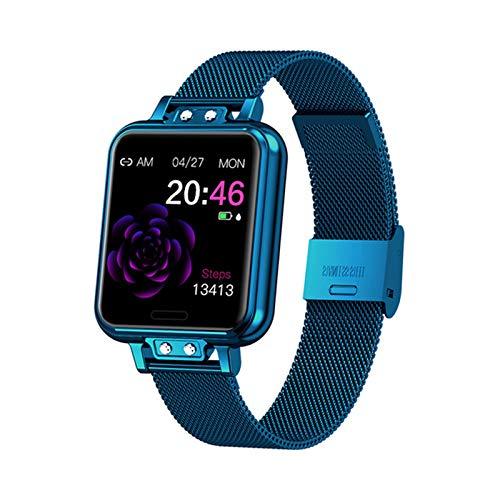 ZGLXZ ZL13 Bluetooth Deportes Smart Watch IP68 Impermeable Presión Arterial Monitor De Ritmo Cardíaco Monitor De Reloj Inteligente Pulsera Reloj De Mujer Reloj De Fitness,C