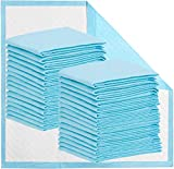 Disposable Bed Pads 32 x 36 Incontinence Pads Heavy Absorbency Underpads Waterproof 5-Layer Protection as Bed Protectors and Pee Pads (36x32 Inch (Pack of 50))