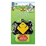 Bags on Board Dog Poop Bags Dispenser with 30 Refill Bags | Bone Design Attaches to Most Leashes