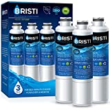 Bristi DA29-00020B Refrigerator Water Filter Replacement, Compatible with Samsung HAF-CIN EXP, DA29-00020B, DA29-00020A, DA97-08006A, RS25J50, RF28HFEDBSR, IAPMO Certified (3 Pack)