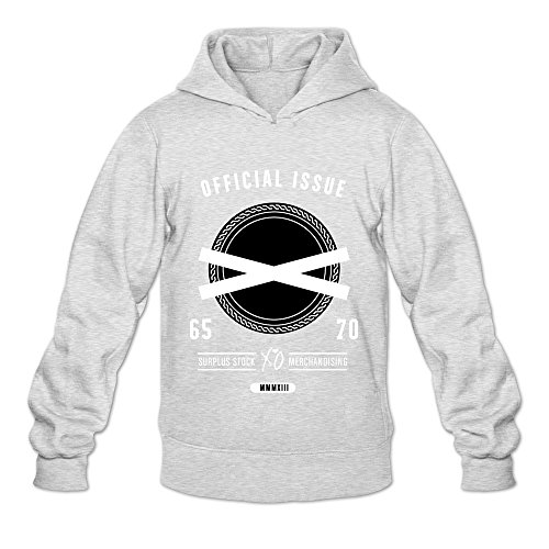 Official Issue Xo The Weeknd Hot Topic 100% Cotton Ash Long Sleeve Sweatshirts For Mens Size XL