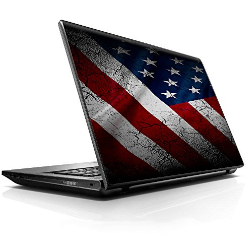 15 15.6 inch Laptop Notebook Skin vinyl Sticker Cover Decal Fits 13.3' 14' 15.6' 16' HP Lenovo Apple Mac Dell Compaq Asus Acer/American Flag distressed