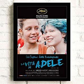 Klassieke Film La Vie D'Adèle Romantiek Liefde Posters Kwaliteit Canvas Schilderij Art Thuis Wall Decor Foto A2385 50×70 C...
