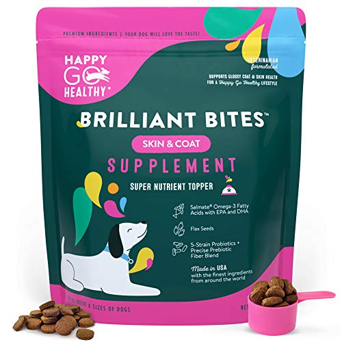 Brilliant Bites Skin & Coat Supplement-120 Scoops