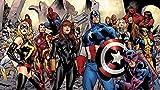 Superhero Comics Papier Peint Spiderman Papier Peint Captain America Photo Papier Peint Enfants Chambre Revêtement Mural Avengers Room Decor