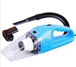 Amaae New Portable 12V 120W Wet Dry Car Vehicle Handheld Vacuum Dirt Dust Cleaner(Color:Blue; Material:ABS)