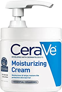 CeraVe保濕霜16盎司日常面部和身體保濕霜適用于干性皮膚