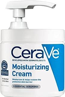 CeraVe保湿霜16盎司日常面部和身体保湿霜适用于干性皮肤