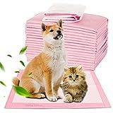 HebyTinco Almohadillas De Entrenamiento para Mascotas Empapadores, Almohadillas de Entrenamiento Almohadillas de Entrenamiento para Cachorros Súper Absorbentes(100 pcs 45 * 33cm)
