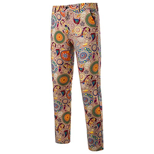 Joggingbroek broek jogger broek heren slim vintage etnische stijl straight cilinder broek business broek 4XL wit