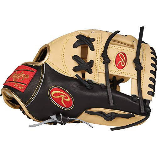 Rawlings PROSNP5-2CBG Pro Preferred, Camel W/Black Trim, 11.75'