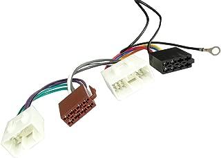 AERZETIX Adaptador cable enchufe ISO para autoradio de coche vehiculos C12030