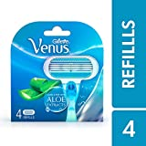 Gillette Venus Razor Blades for Women - 4 Pieces