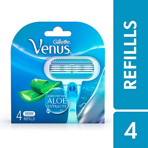 Gillette Venus Razor Blades for Women - 4 Pieces