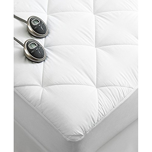 Sunbeam Premium Luxury Quilted Electric Heated Mattress Pad California King Size