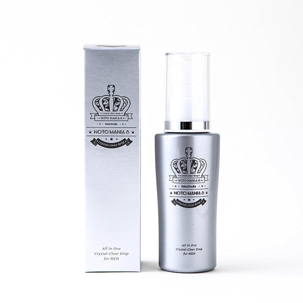 階段上記の頭と肩ガウンノトマニア8 ( NOTOMANIA8 メンズ オールインワン 濃密保湿美容液 )& 男性用 スキンケア 化粧水