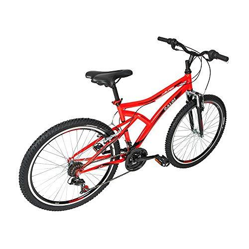 Bicicleta Lazer Caloi Alpes Aro 26 - Susp Dianteira - 21