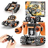 3 in 1 Remote Controlled Building Toys Kits Educational Learning Science Gifts STEM Projects for Kids Ages 8-12