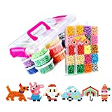 8400 PCS 30 Colores Craft Sticky Beads compatible para Aquabeads