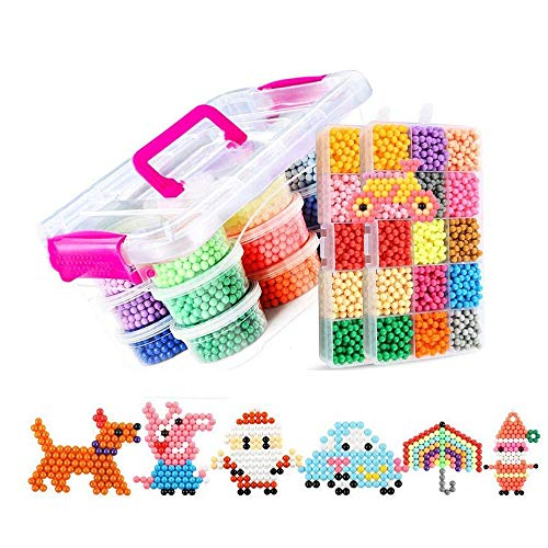 8400 PCS 30 Colores Craft Sticky Beads compatible