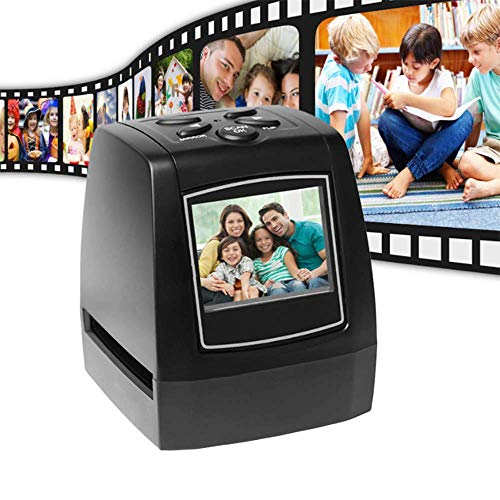 Great Price! DOUDOU Mini Digital Film & Slide Scanner, Converts 35mm 135mm Film Negatives & Slides t...