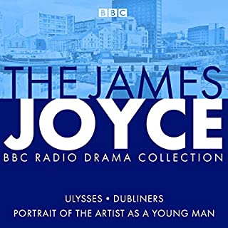 The James Joyce BBC Radio Collection audiobook cover art