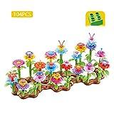 WGXQY Spielzeug Für Kinder Ab 1 Jahr, Kinderspielzeug Als Geschenk Mädschen 2 Jahre,DIY Gartenblumen Spielzeug Bastelset Bauspielzeug Für Kinder