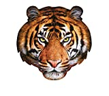 Madd Capp Puzzles - I AM Tiger - 550 pieces - Animal Shapes Jigsaw Puzzle