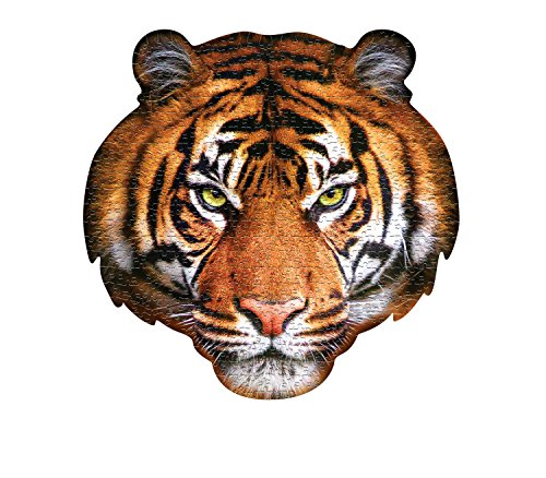 MADD CAPP 883005 Shape Puzzle Tiger, Konturpuzzle 550 Teile, für Kinder und Erwachsene, Mehrfarbig