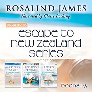Escape to New Zealand Boxed Set, Books 1-3                   By:                                                                                                                                 Rosalind James                               Narrated by:                                                                                                                                 Claire Bocking                      Length: 27 hrs and 5 mins     623 ratings     Overall 4.5