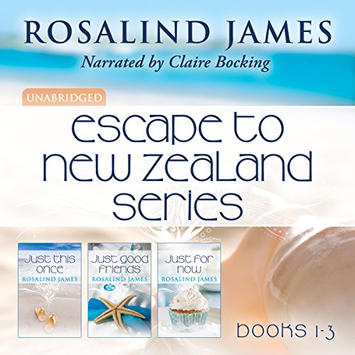 Escape to New Zealand Boxed Set, Books 1-3                   Written by:                                                                                                                                 Rosalind James                               Narrated by:                                                                                                                                 Claire Bocking                      Length: 27 hrs and 5 mins     3 ratings     Overall 4.3