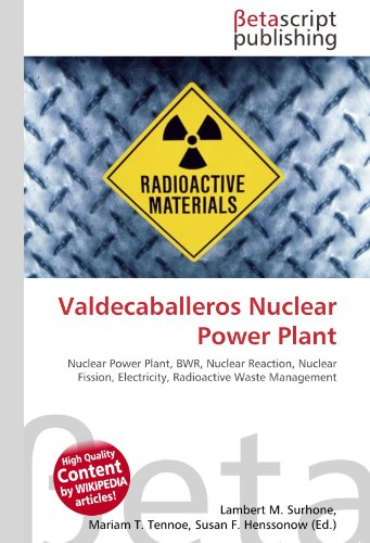 Valdecaballeros Nuclear Power Plant: Nuclear Power Plant, BWR, Nuclear Reaction, Nuclear Fission, Electricity, Radioactive Waste Management
