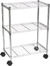 AmazonBasics 3-Shelf Shelving Storage Unit on 3
