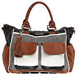 Itzy Ritzy Triple Threat Convertible Diaper Bag & Converts from a Tote to