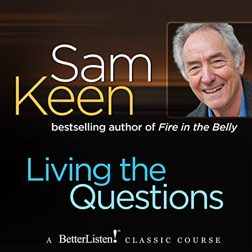 Living the Questions audiobook cover art