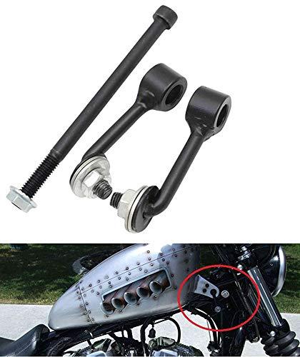 Lisyline Billet 2' Gas Tank Lift Kit For Harley Sportster Irons XL 883 1200 48 72 1995-2019