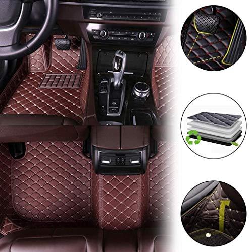 Alfombrillas de Coche (Delanteras + traseras) para Volvo V40 V60 V60 Hybrid V90 Cross Country e Alfo