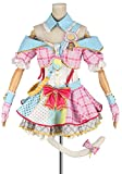 Cosonsen Love Live! Minami Kotori Cosplay Costume Idol Outfit Ver Pink (Men S)