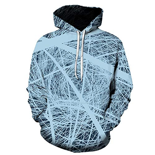 PRJN Unisex 3D Mens Hoodie Multi Coloured Tops Casual Pullover Hoodies HD 3D Print Pullover Lightweight Sweatshirts Pockets Unisex 3D Hoodie Sweatshirt Printed Hoody Drawstring Pullover with Pocket