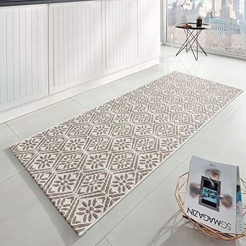 Zala Living Creation Küchenläufer, Polypropylen, Beige/Creme, 80x200 cm