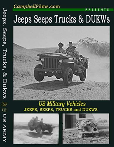 Jeeps, Seeps, Dukws & Trucks Old Films Army Navy USMC G503 MB GPW DVD