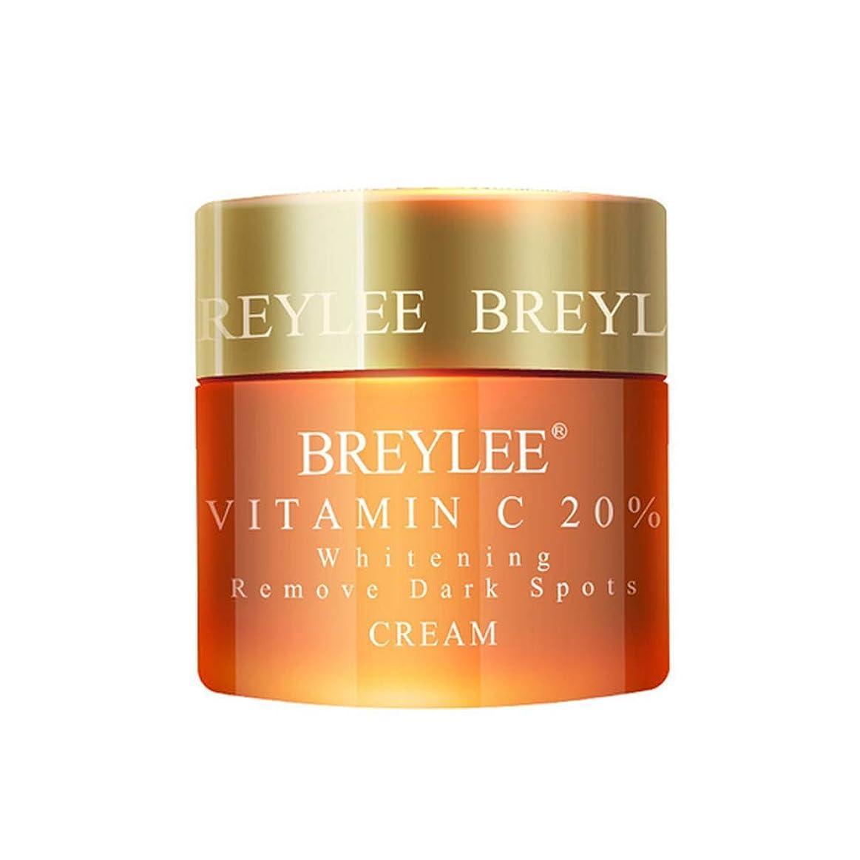ありそう報復きらめくBREYLEE ヒアルロン酸 保湿クリーム 20%ビタミンC配合 美白 皮膚の引き締め (ビタミンC)