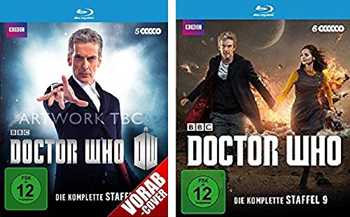 Doctor Who - Staffel 8+9 [Blu-ray]